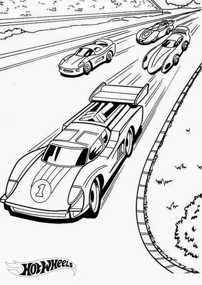 Hot Wheels Coloring Pages 14