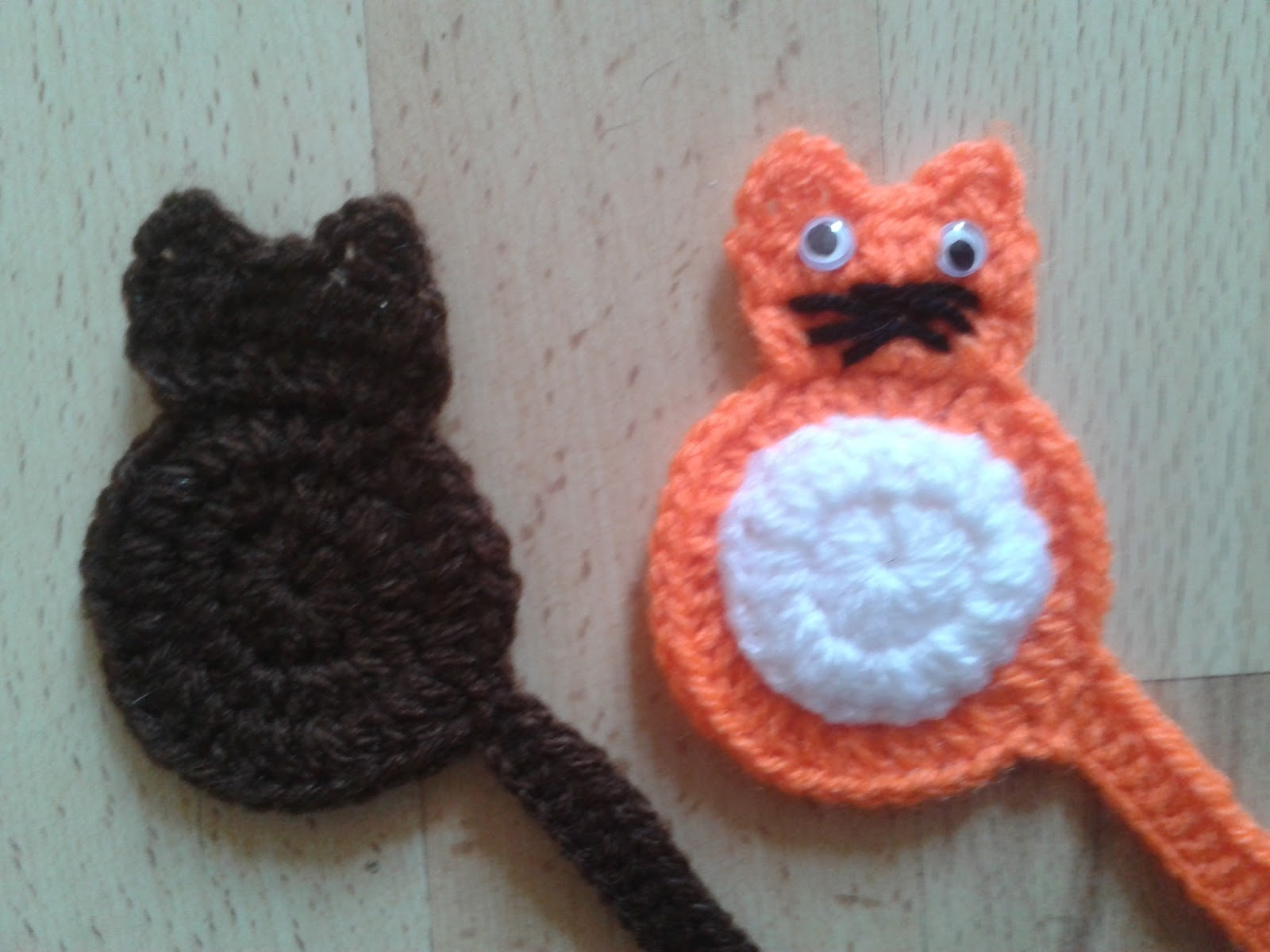 Cat Crochet Pattern : Crochet Cat Bookmark Pattern