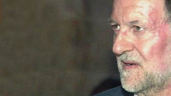 Revelan el inesperado parentesco entre Mariano Rajoy y el jóven que le golpeó
