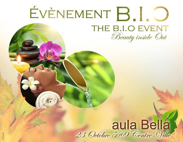 l'Évènement B.I.O Aula Bella biocosmétiques