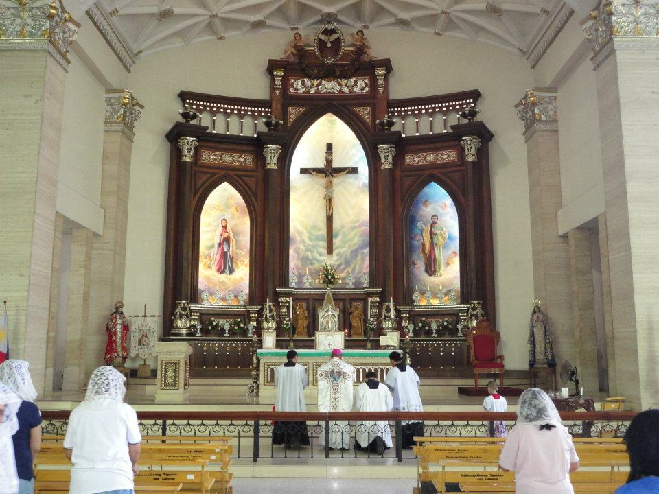 Holy Family Parish Quezon City Back in Holy Family Parish