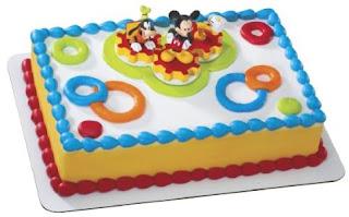 Beautiful Mickey Mouse Birthday Cake