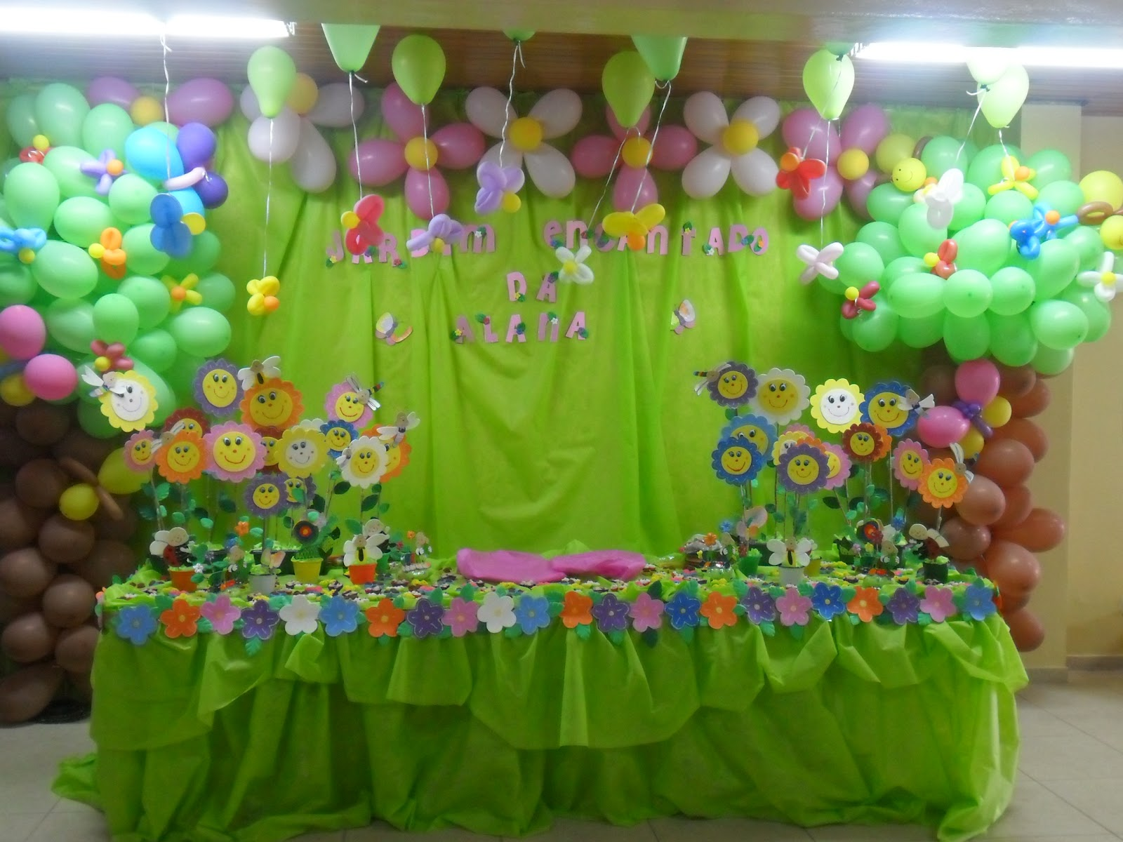 ideias para tema jardim : ideias para tema jardim:Brincando com Idéias: Festa de Aniversário Tema Jardim Encantado