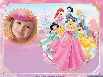 Fotomontajes Infantil   Las Princesas De Disney
