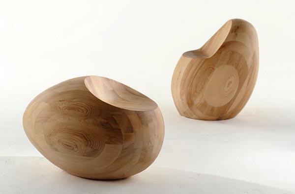 Southern health healing garden timber furniture for Egg designs furniture