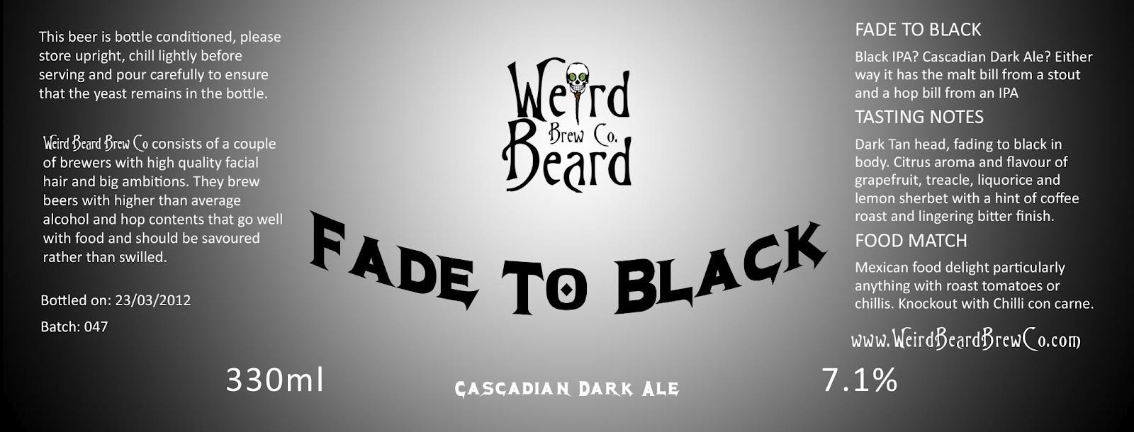 Weird Beard Brewing: The Rake Bar - 22nd April 2012