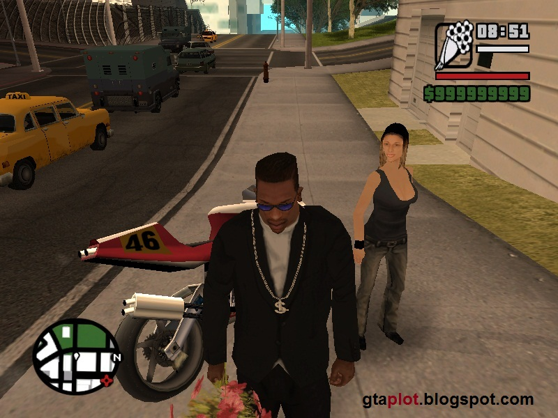 Pacar CJ Michelle Cannes GTA San Andreas Girlfriends