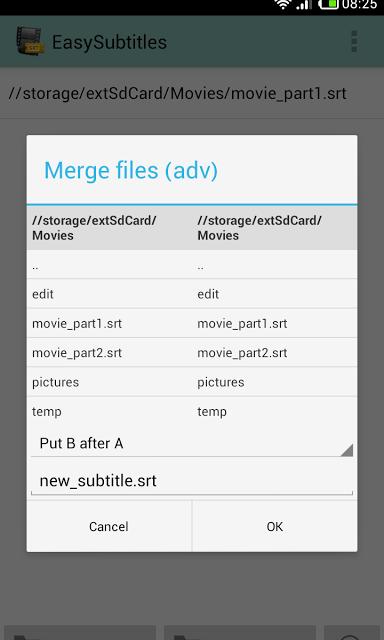 Cara Edit dan Buat Subtitle Film di Android