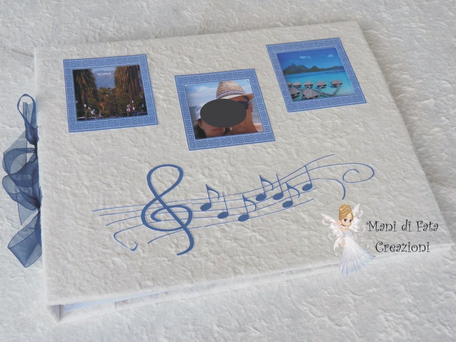 Matrimonio Tema Musica : Mani di fata creazioni guestbook matrimonio musica
