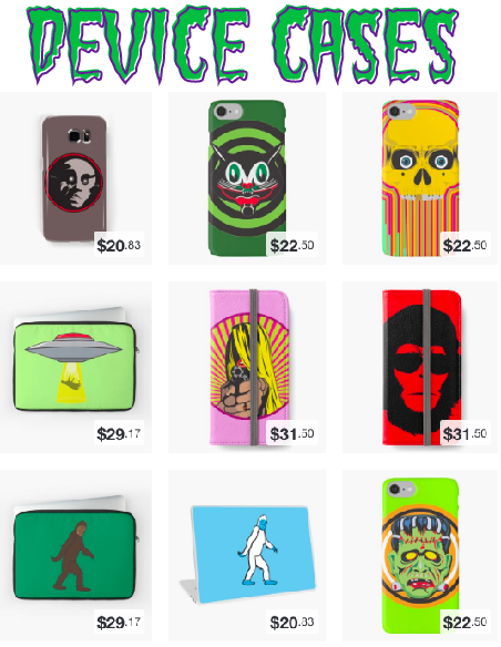 Phone and Tablet Cases, Laptop Skins and More!