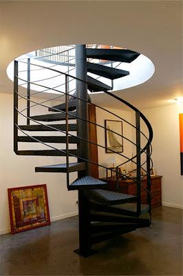 Diseño de Escalera de Caracol