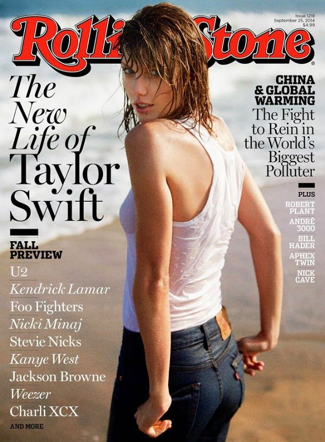 Taylor Swift en la revista Rolling Stone
