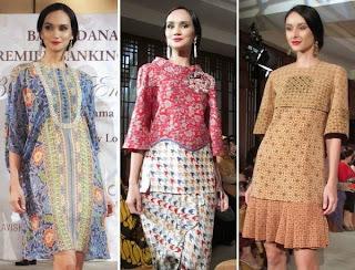 Foto Baju Batik Wanita Danar Hadi
