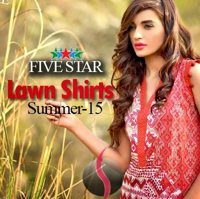 Five Star Lawn Kurti 2015