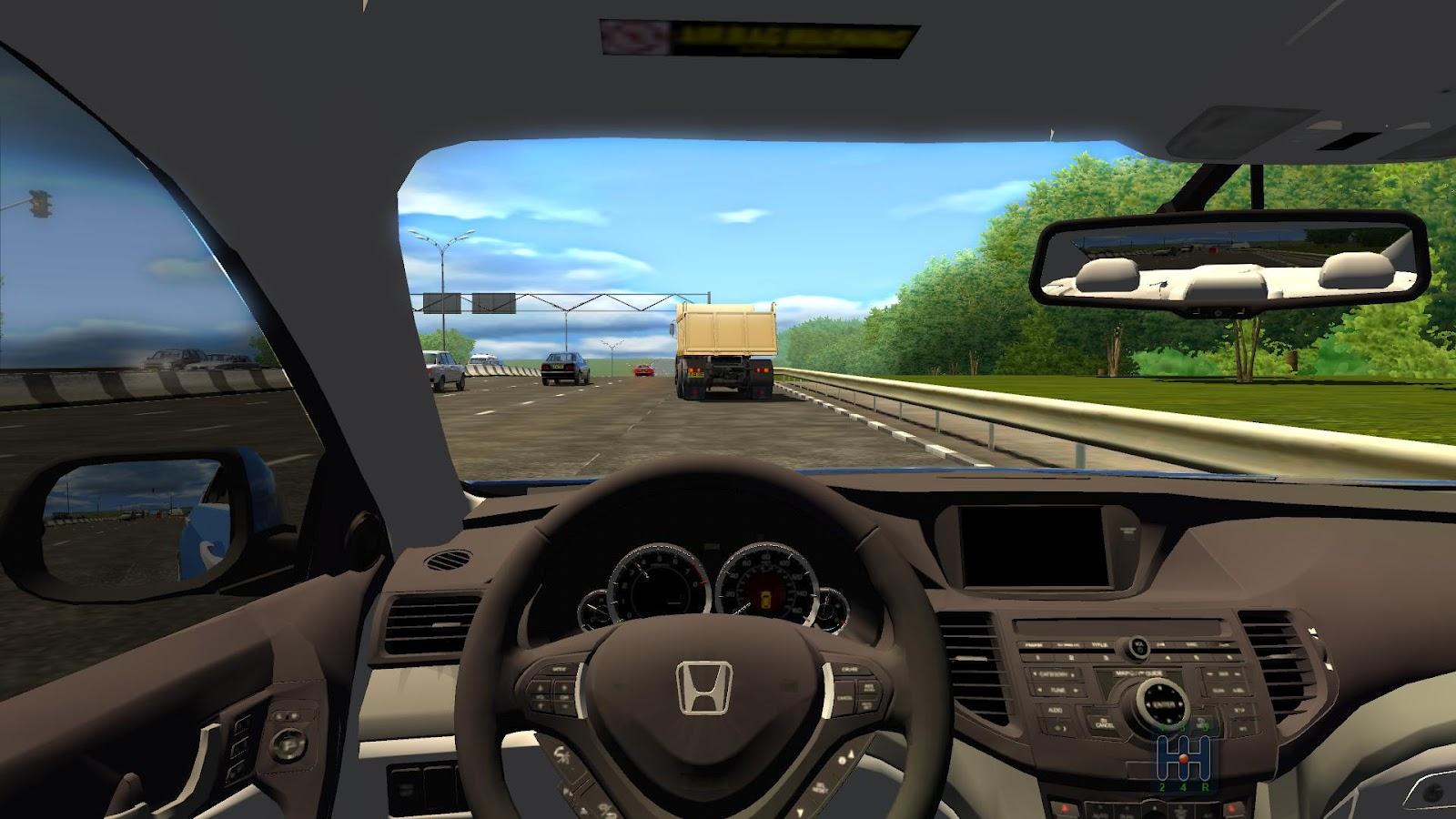 City Car Driving Mercedes Games