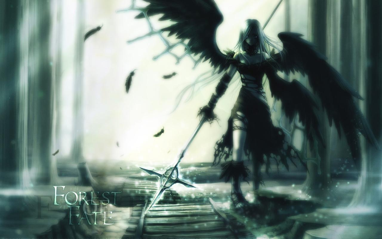 angel of death anime -#main