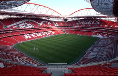 Clique na imagem e veja o estádio da Luz em 360º e realidade virtual