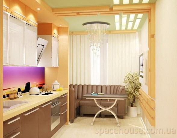 фото ремонта лоджии и кухни
