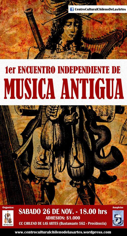 1er Encuentro Independiente de Música Antigua (2011)