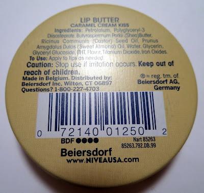Nivea Caramel Cream Kiss Lip Butter
