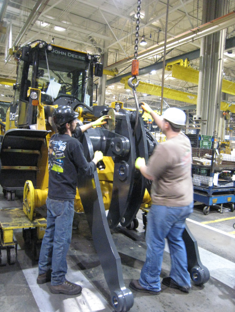 John Deere Assembly Line : Truth or dairy john deere factory tour