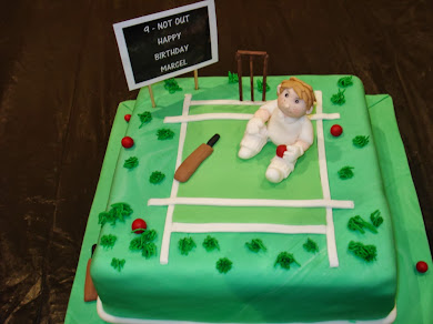 Cricket Cake for Marcel