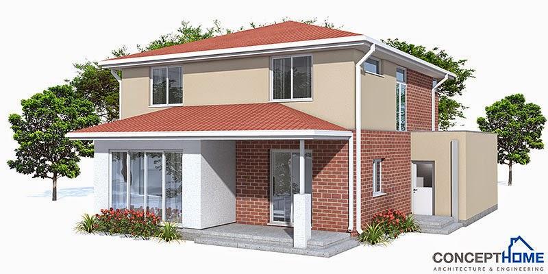 Proyectos de casas modernas proyecto de casa moderna ch111 for Proyectos casas modernas