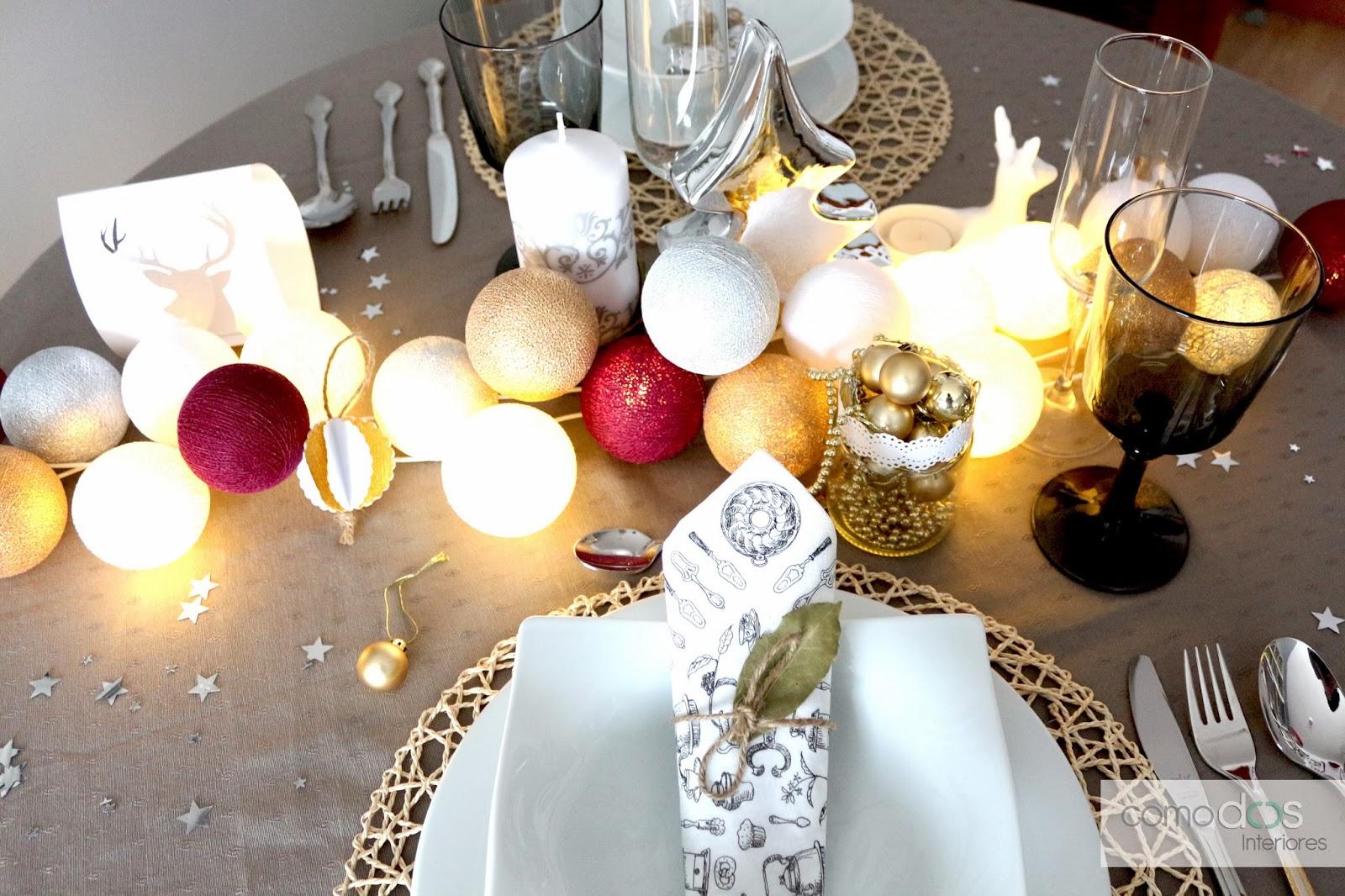 Comodoos interiores tu blog de decoracion poner la mesa - Blog decoracion navidad ...