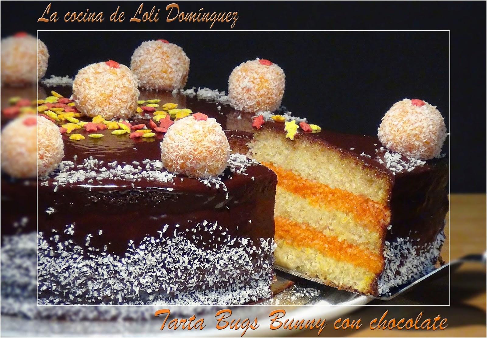 la cocina de loli dom nguez tarta bugs bunny con chocolate