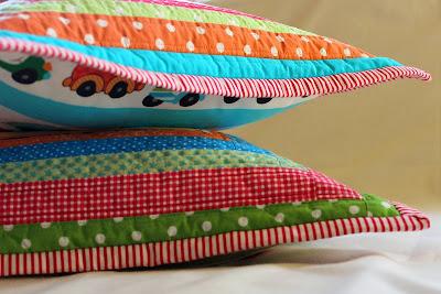 patchwork poduszka