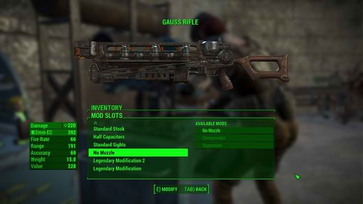 fallout 4 more legendary slots
