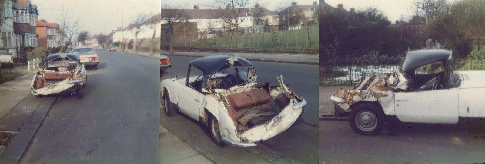 SHARPEYE STYLE: The Car Crash 1980