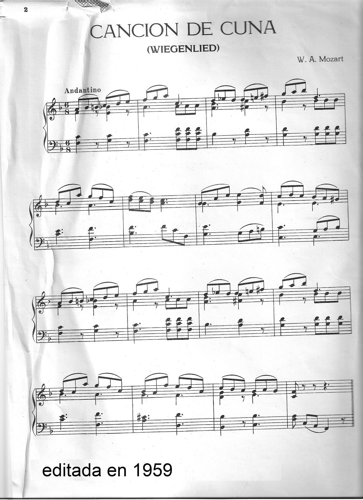 Aprendo con melod as canci n de cuna mozart todo m sica - Canciones de cuna en catalan ...