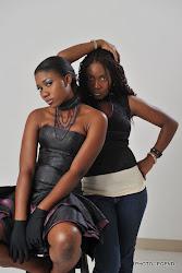 The Model & Her Designer...