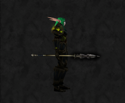 Blackened Spear