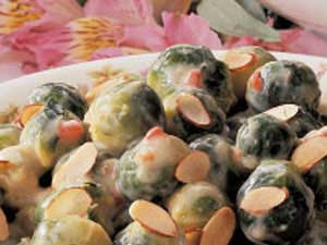 Creamy Brussel Sprouts
