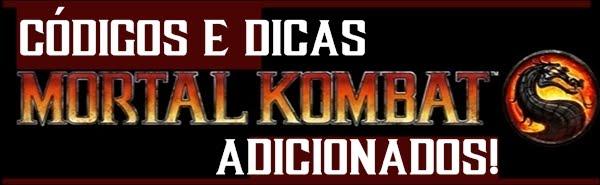CÓDIGOS E DICAS MK (2011)