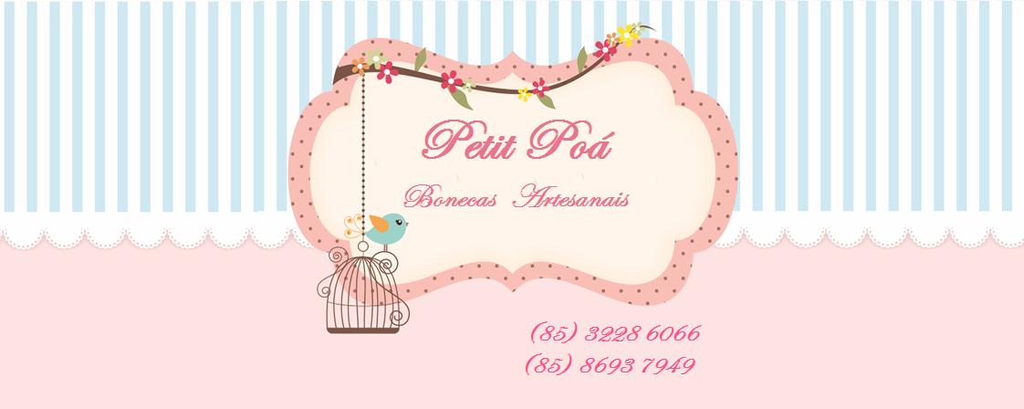 Petit Poá bonecas artesanais