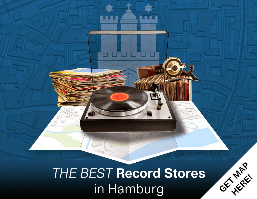 Map of the best records stores in Hamburg (Germany) - For Djs, Vinyl Lovers and Collectors