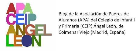 Blog de la APA del colegio ÁNGEL LEÓN