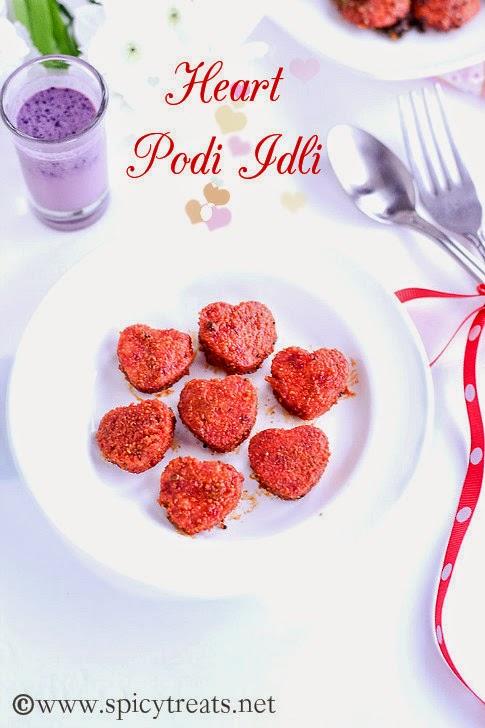 Beets Podi Idli