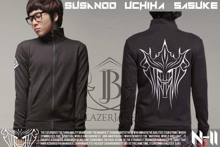 Jaket Anime Naruto - Uchiha Sasuke - SUSANOO blazerjaket blazer