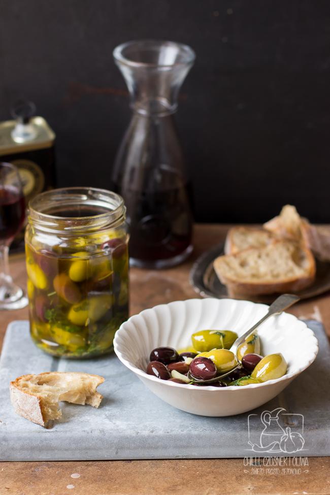 domowe oliwki marynowane
