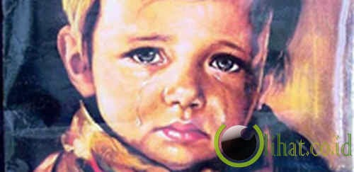 Lukisan The Crying Boy