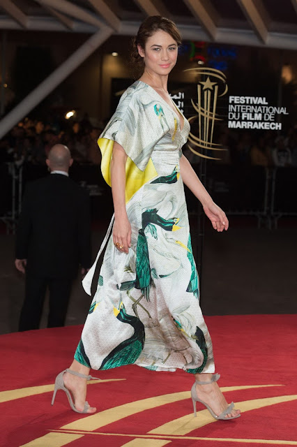 Actress, Model, @ Olga Kurylenko - Tribute to Canadian Cinema during 15th Marrakech IFF
