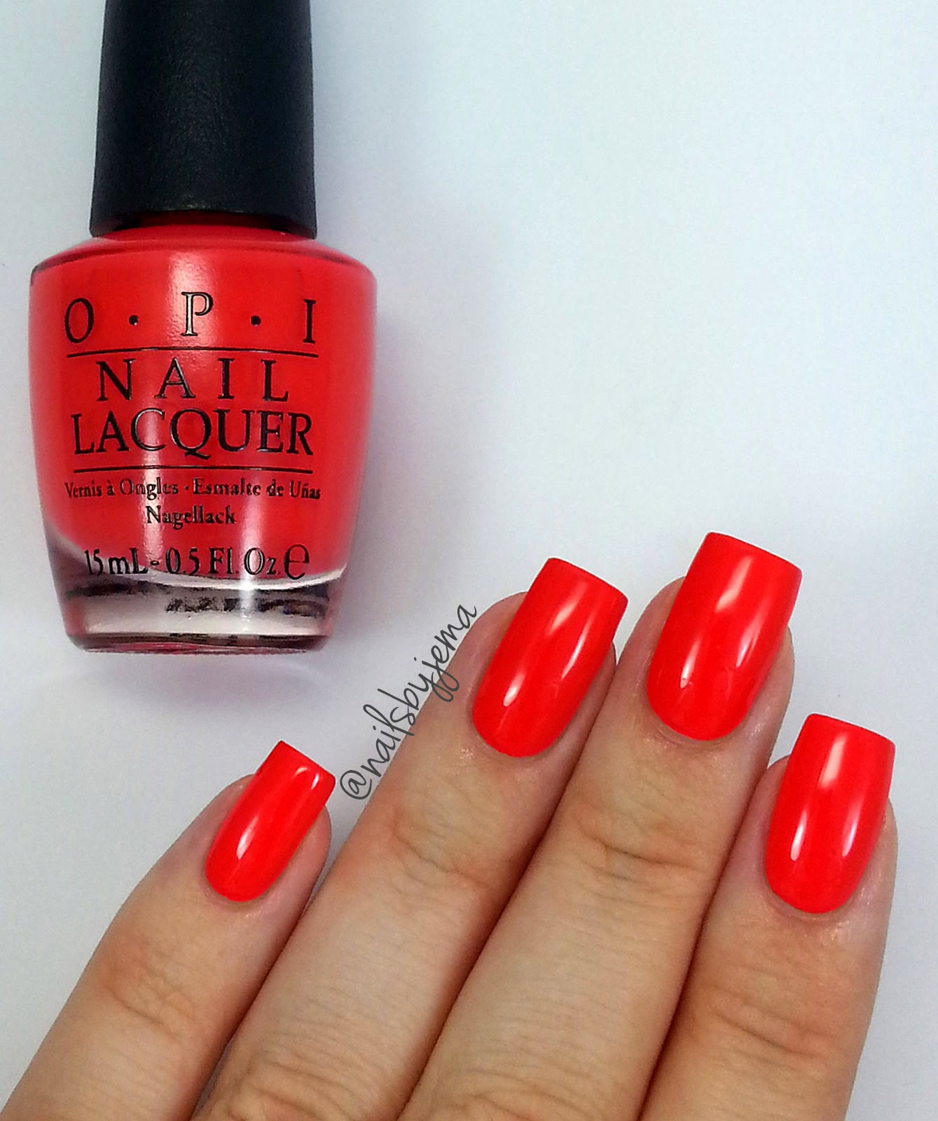 Nails By Jema: OPI Hawaii Collection Swatches & Review
