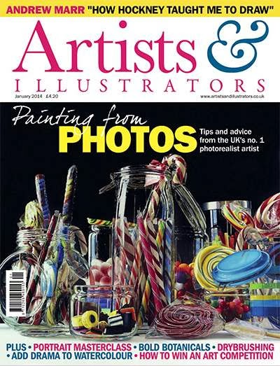 Artist and Illustrator Magazine January 2014