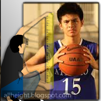 What is Kiefer Ravena's height?