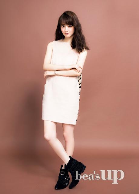 佐々木希 Sasaki Nozomi Bea's Up Images 4