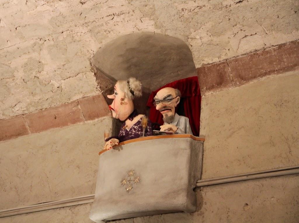 Teatro de fantoches - Basler Marionetten Theater - Basel Suíça